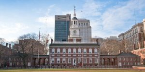 Philadelphia weddings - Philadelphia wedding photo locations - Independence Hall