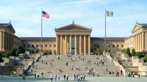 Philadelphia weddings - Philadelphia wedding photo locations - Philadelphia Art Museum steps